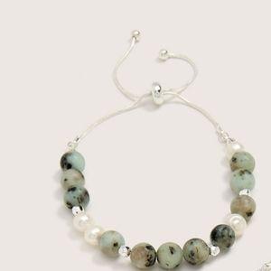 NWT 3/$20 Semi Precious Stone Bracelet